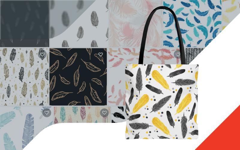 Printify Shutterstock Integration Custom Tote Bags