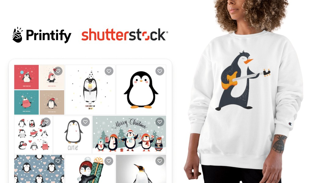 Printify and Shutterstock Integration Example