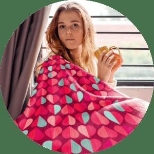 Valentines Day Unique Gifts Blanket