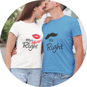 Valentines Day Unique Gifts T-shirts