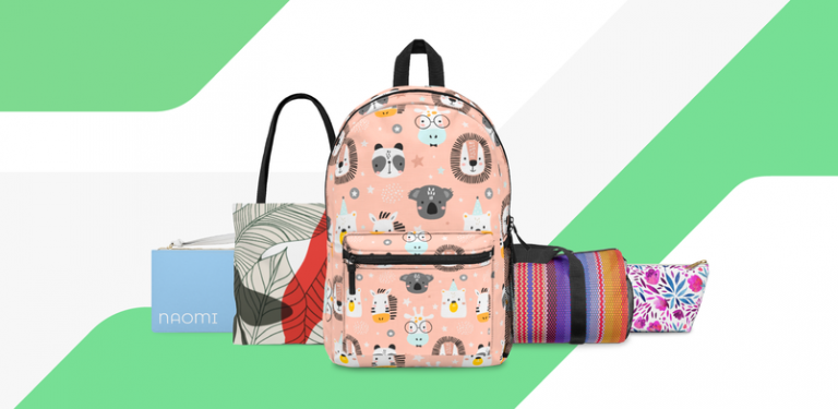 Custom Printify Bags