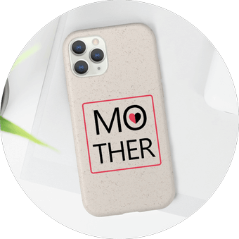 Biodegradable Case Mothers Day Designs