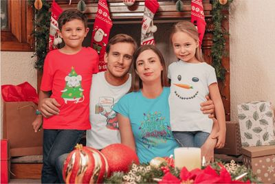 Christmas T-shirts Printify