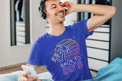 Cusotm Products 80s T-shirts Printify