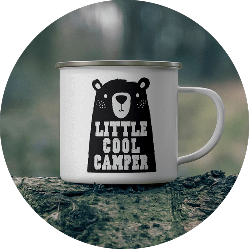 Custom Enamel Mug Animals