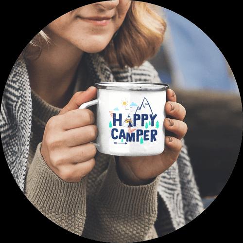 Custom Enamel Mug Popular
