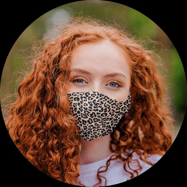 Custom Face Mask Animal Patterm