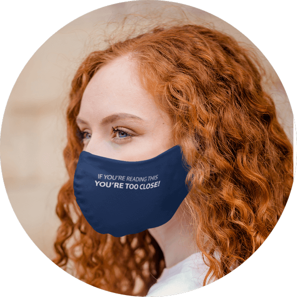 Custom Face Mask With Text