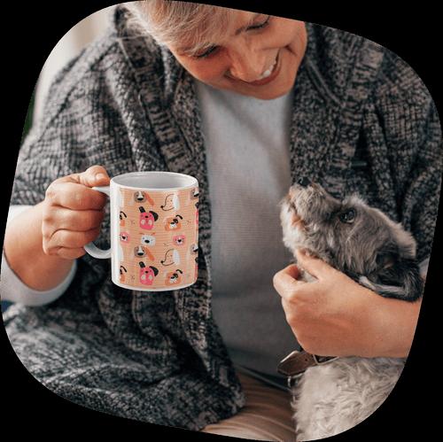 Custom Mugs Cats and Dogs