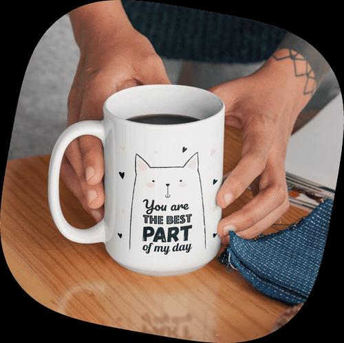 Custom Mugs Cute Cat Lovers Mug