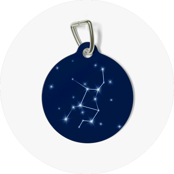 Custom Pet Tags Star Signs