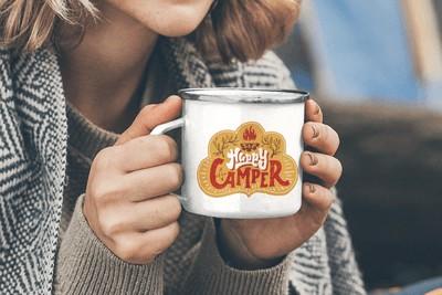 Custom Products Custom Enamel Mug
