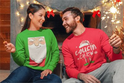 Custom-Products Ugly Christmas Sweaters Printify