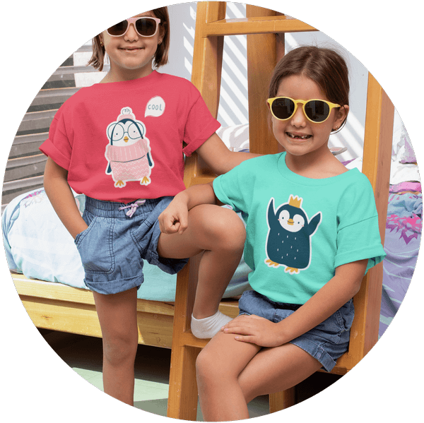 Custom T-shirt Printing Children
