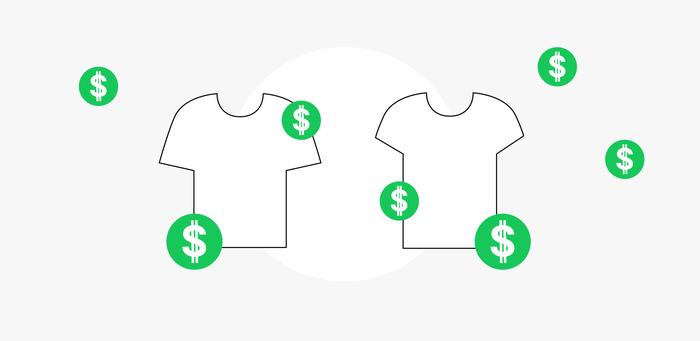 Custom T-shirt Printing Costs