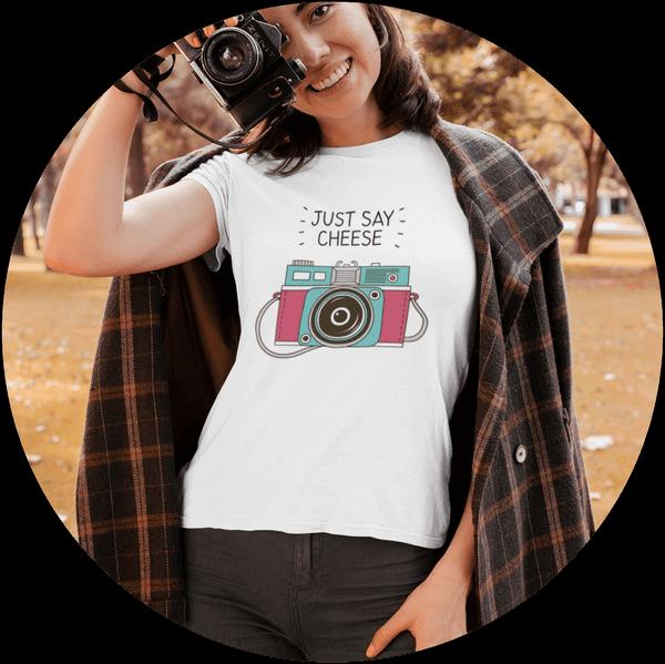 Custom T-shirt Printing Women