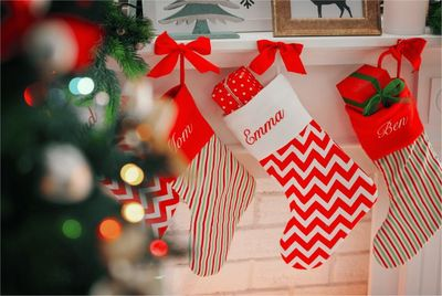 Personalized Christmas Stockings Printify