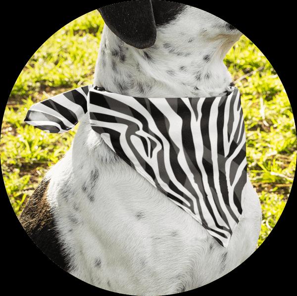 Personalized Custom Dog Bandanas Animal Print