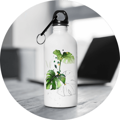White Label Products Stainless Steel Water Bottle Design