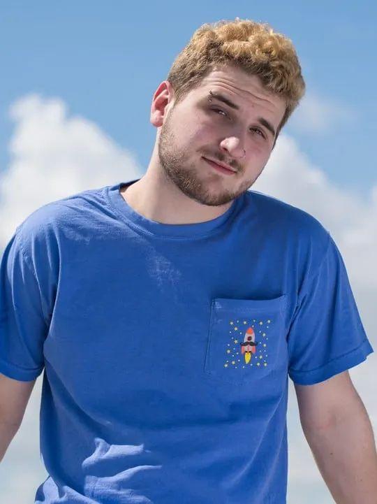 Youtuber Merch FBE Blue Shirt