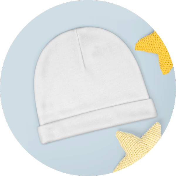 Custom Baby Hats Printing
