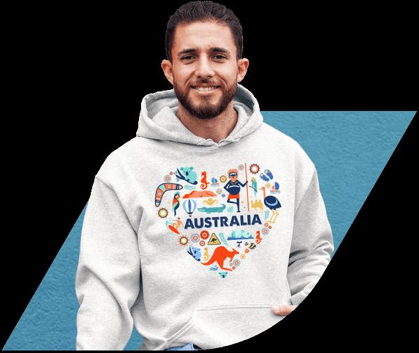 Custom Hoodies Australia