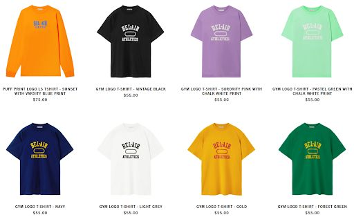 Top TikTokers Merch Products