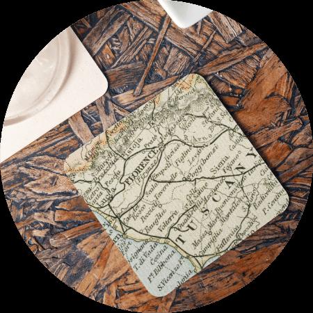 Custom Coasters Map