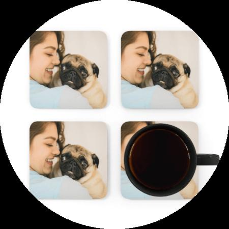 Custom Coasters Photographs