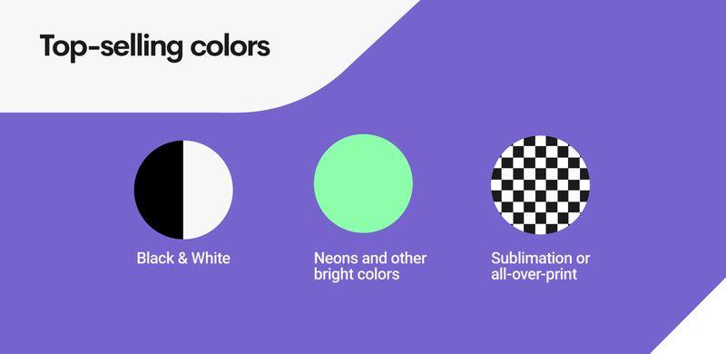 Gamer Merch Colors