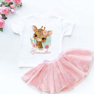 Personalized Baby Clothing Animal