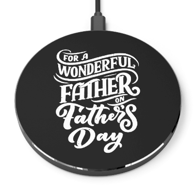 Personalized Father's Day Gift Ideas Wireless Charger