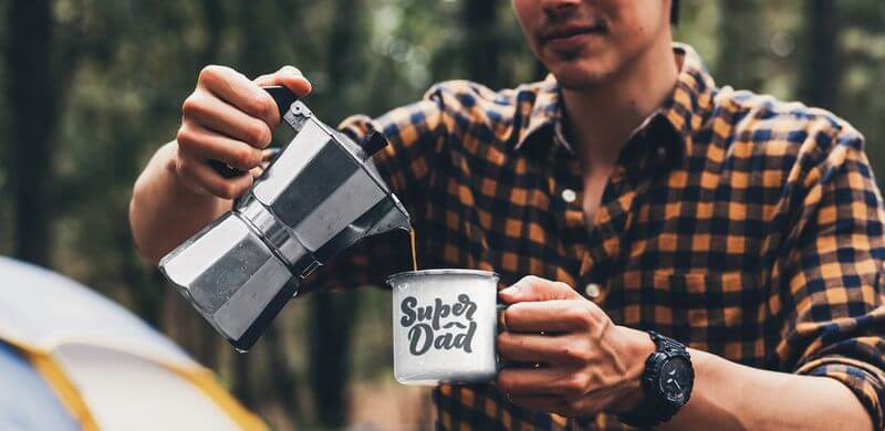 Personalized Father's Day Gifts Camper Mug