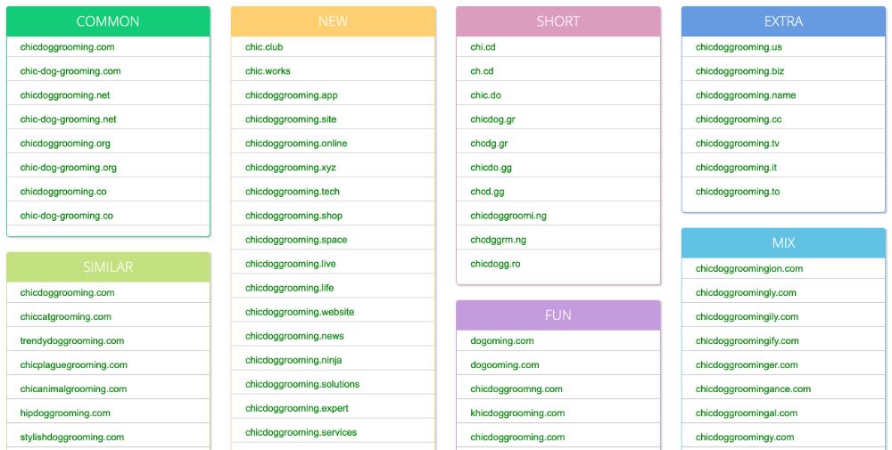 Printify Brand Name Generator Name Mesh