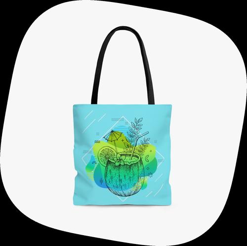 All-over-print Tote Bag