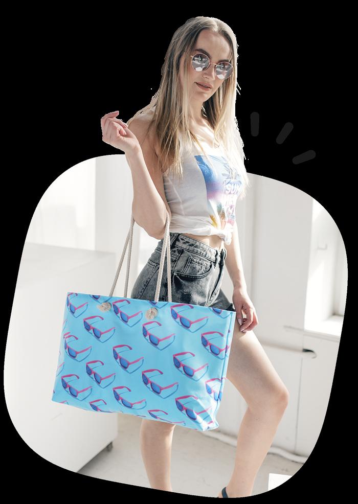 Custom Beach Bags Main Visual