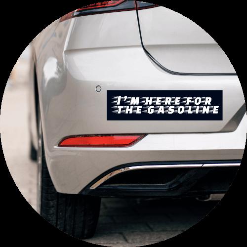Custom Bumper Stickers Groovy