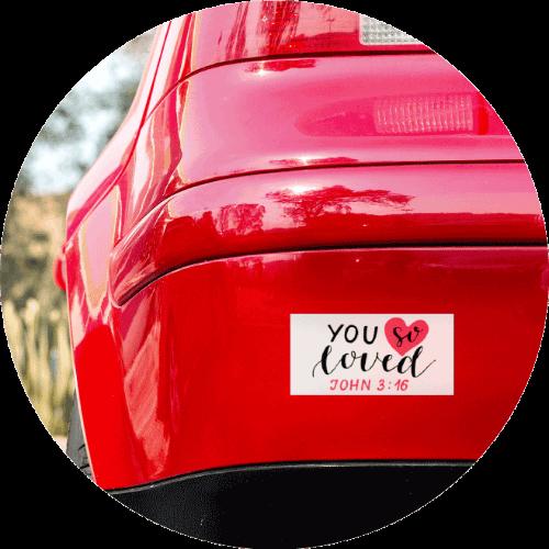Custom Bumper Stickers Prayer