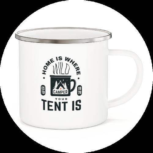Custom Printed Mug Enamel Mug