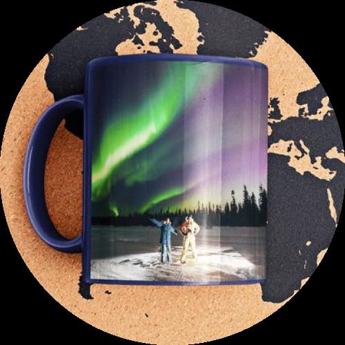 Custom Printed Mug Enamel Travel