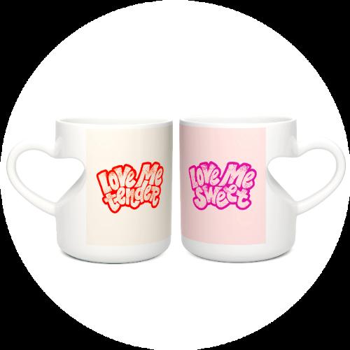 Custom Printed Mug For Couples