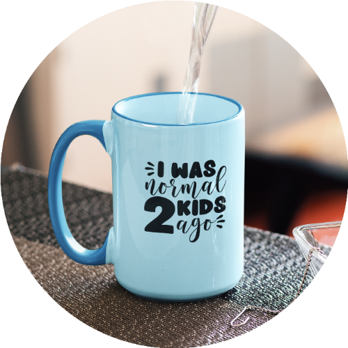 Custom Printed Mug For Parents