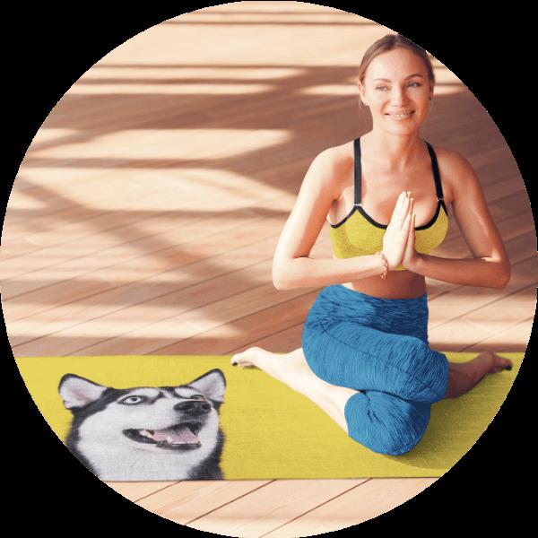 Custom Yoga Mat Animal