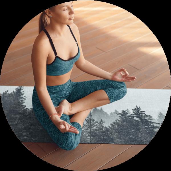Custom Yoga Mat Nature