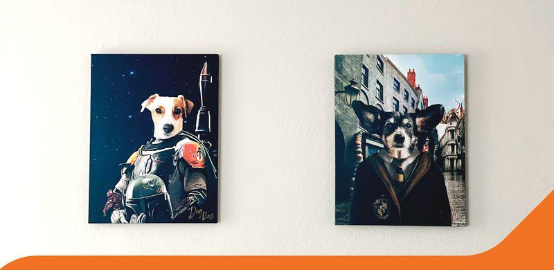 Etsy Business Dog Ross Branding