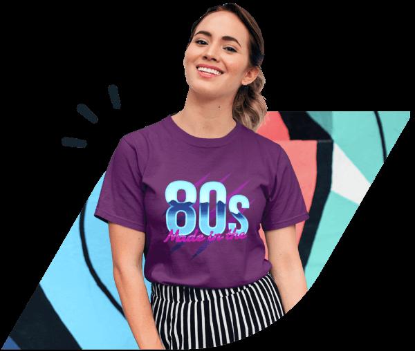 80s t-shirts main visual