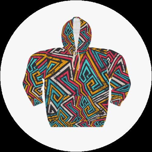 AOP (All Over Print) hoodies