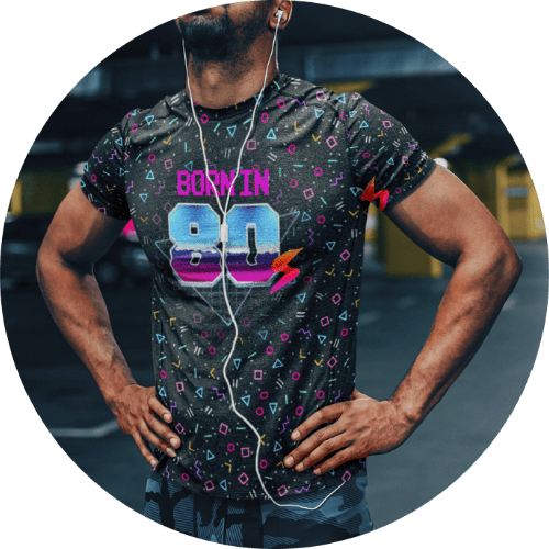 Born in 80s t-shirt
