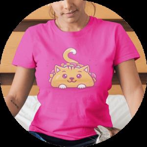 Cat T-Shirts Taco Cat Design