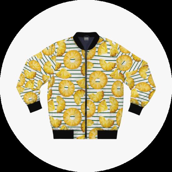 Custom AOP Bomber Jacket